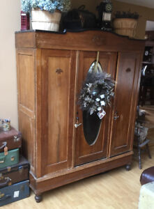 Antique Wardrobe/ Price Reduced! Further Reduction!!