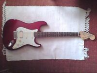 Fender Deluxe stratocaster 2016 mim electric guitar not gibson ibanez prs