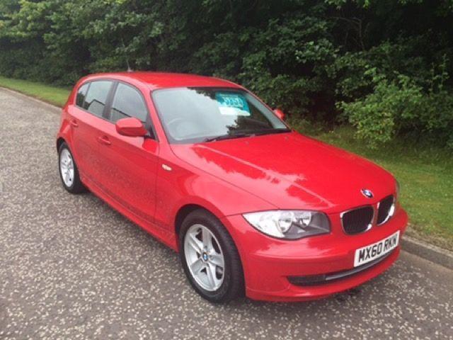 2010 60 BMW 1 SERIES 2.0 116I SPORT 5D 121 BHP