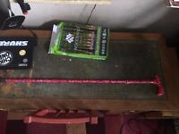 Collapsible Walking Stick. Max height 0.9metres