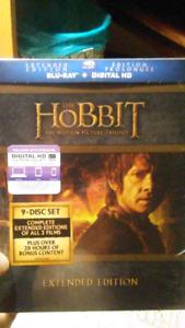 2017 collectors edition The Hobbit boxset new 9 discs bluray