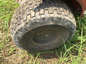 Lawn Mower Garden Tractor Riding Mower Tires Wheels Rims