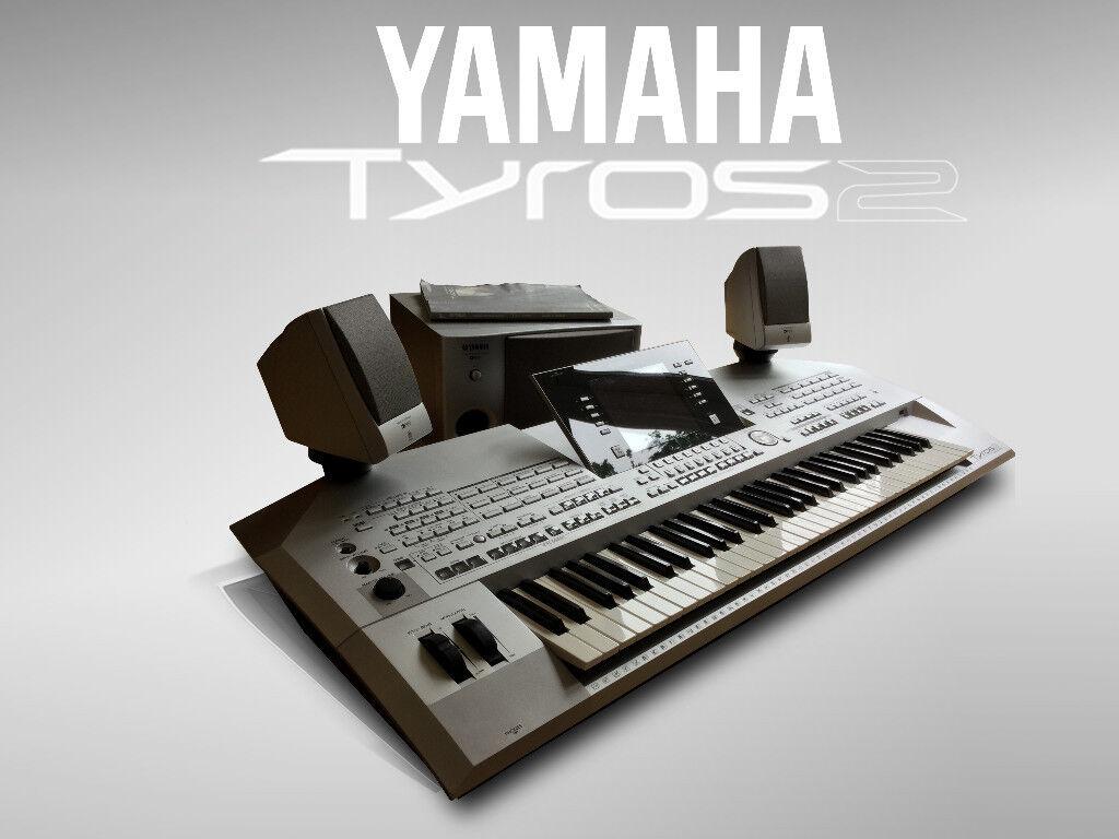 yamaha tyros 2 upgraded  512 mb ram  hard drive Yamaha PSR 280 Keyboard yamaha psr s500 keyboard manual