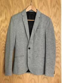 Zara Man Grey Sports Blazer (Small)