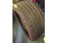 "3 18"" F1 Goodyear tyres"