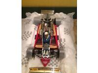 Jody Scheckter signed Ferrari 312T4 car model