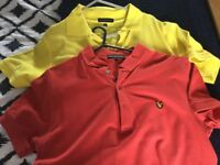 Lyle and Scott Polo tops