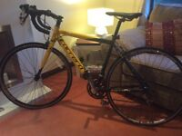 Carrera large road bike for sale.