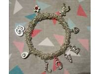 Handmade charm bracelets