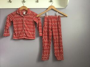 Girls Size 5T Winter Pajamas