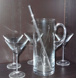 All about your Home Bar-Martini and Shooter Set,Wine and Liquor