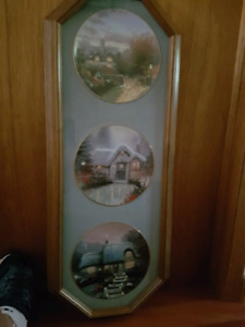 Thomas Kinkade Limited Edition Plates