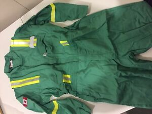 Brand new flame resistant coveralls