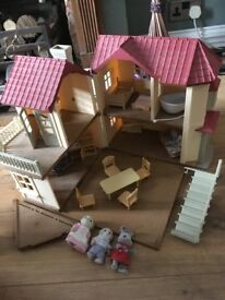 Loads of Sylvanian Families items