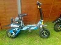 petrol sit on scooter used hand full time good condition work as should two avalible