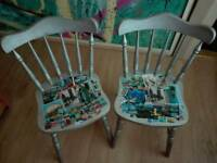 Unique arty chairs