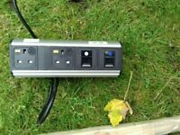 Power socket with Internet