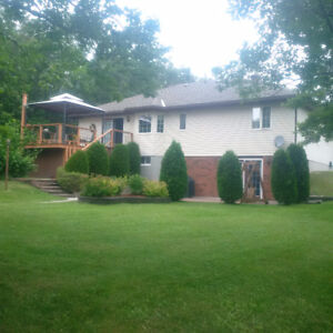 Beautiful well maintained water front home in Blind River