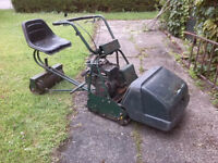 Atco Ride-on Cylinder Mower