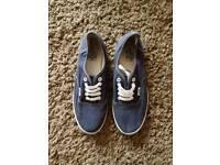 Navy blue vans uk size 7