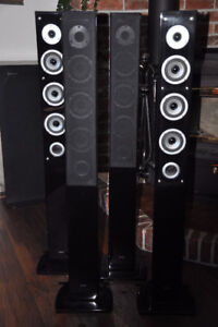 Mystique 6.1 Surround sound Home Theater Towers by Quest