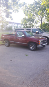 1989 Chevrolet short box step side