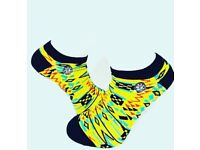 DeesSocks Ankle Kente