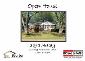 Open House Sunday, August 20/17 1-3pm