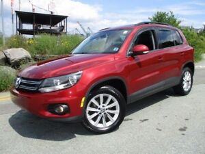 2014 Volkswagen TIGUAN 4-MOTION 2.0 TSI (HEATED LEATHER SEATS, P