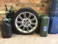BMW E46 MV2 Set of 4 genuine alloys and tyres