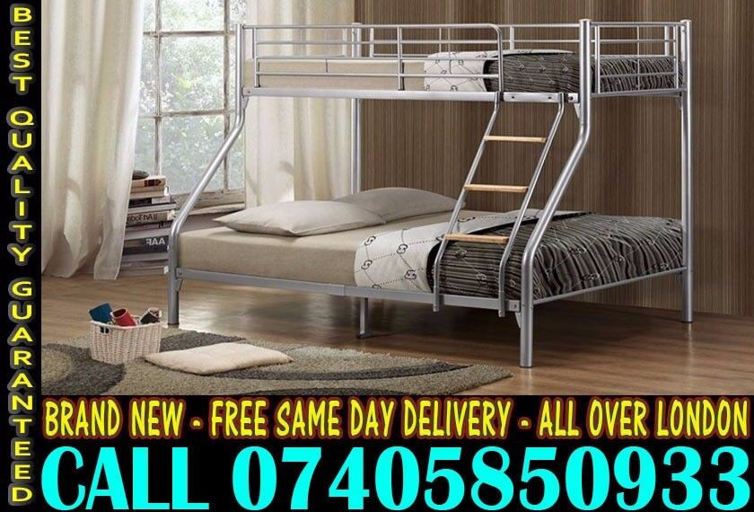 Brand New Bunkbed Single Double And MattressCALL NOW Madisonin Eltham, LondonGumtree - SAME DAY DELIVERY CALL NOW 07405 850933 Brand New all type bed sofa wardrobe very chep price