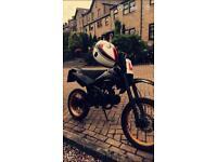125cc pit bike reg as 50cc