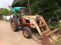 David Brown 990 Selectamatic tractor with loader