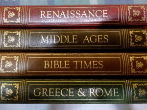 Book: Collection re Middle Ages, Bible Times, Greece, Renaissanc