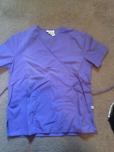 8 Small scrub tops $40 FOR ALL