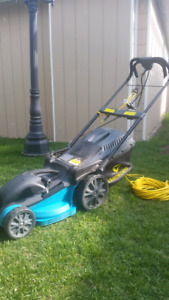 Eletrical lawn mover