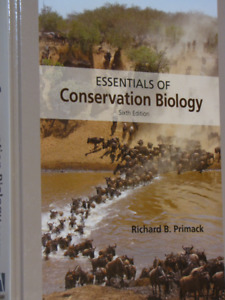 Essentials of Conservation Biology 6th Edition