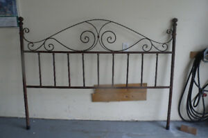 King Headboard Metal
