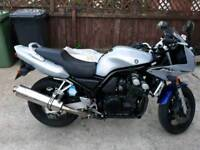 for sale yamaha fazer 600 37 tho miles 10 month test as dent in tank as shown in pic s 53 reg