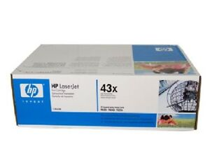 HP 43X C8543X Original Toner Cartridge - 30000 Page