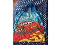 Disney Cars hooded towel