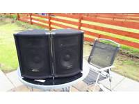 2 kam small dj speakers