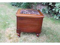 Vintage commode stool