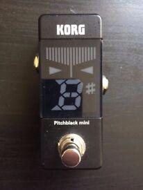 Korg Pitchblack Mini Tuner - swap for Boss TU2/3