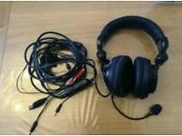 Venom vibration wired headset. Xbox 360