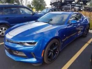 2016 Chevrolet Camaro LT RS PACKAGE! LEATHER! SUNROOF! $103/WK,