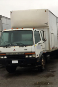 MINT CONDITION MITSUBISHI TRUCK AND TRAILER