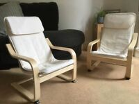 2 Ikea Children's Armchairs