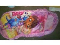 Ready bed inflatable toddler bed Doc Mcstuffin
