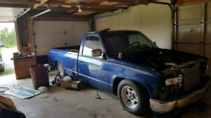 92 chevy truck mini tubed